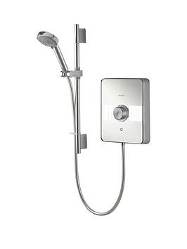 Product photograph showing Aqualisa Lumi 10 5kw Electric Shower