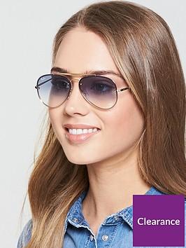 ray-ban-highstreet-sunglasses--nbspclear-gradientnbsplight-bluenbsp