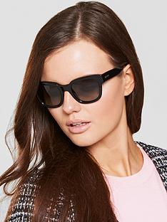 dkny-oval-black-sunglasses