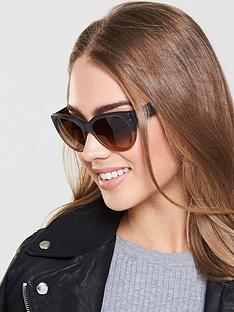 dkny-cateye-sunglasses-brown