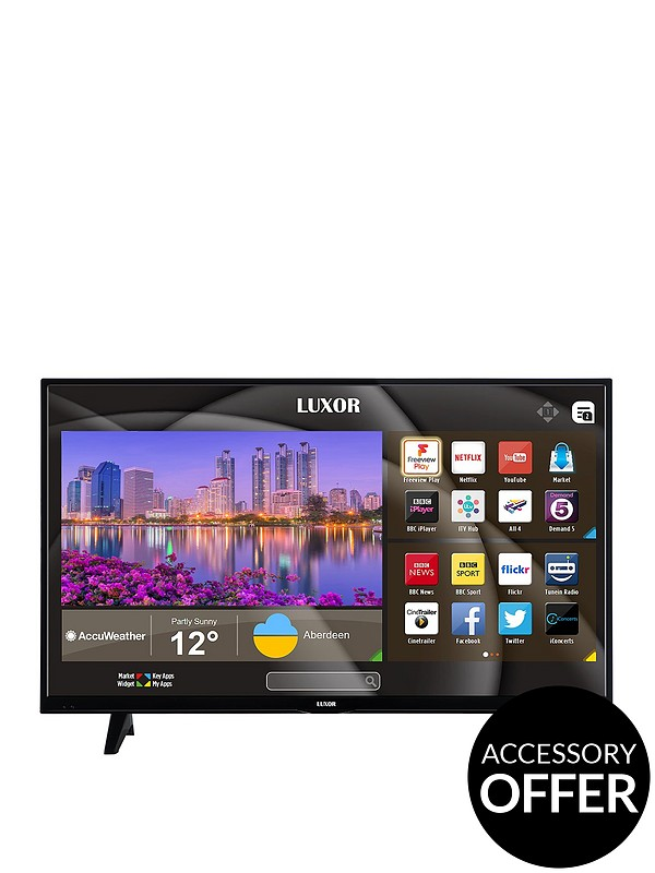 43 inch, 4K Ultra HD, Freeview Play, Smart TV
