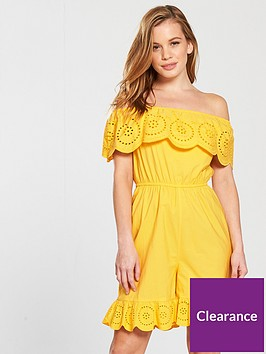 v-by-very-petite-crochet-trim-playsuitnbsp--yellownbsp