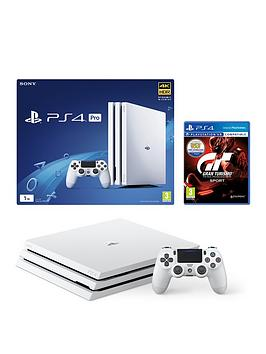 playstation-4-pro-1tbnbspwhite-console-with-gran-turismo-sportnbspand-optional-extras