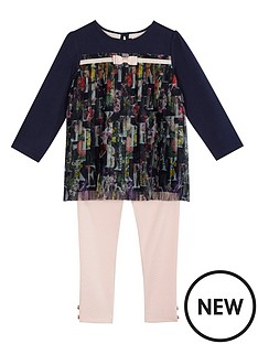 baker-by-ted-baker-girls039-light-pink-quilted-leggings-and-pleated-top-outfit