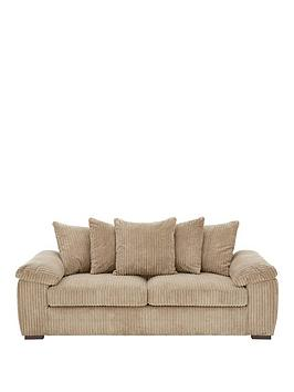 Very Amalfi 3 Seater Scatter Back Fabric Sofa Picture