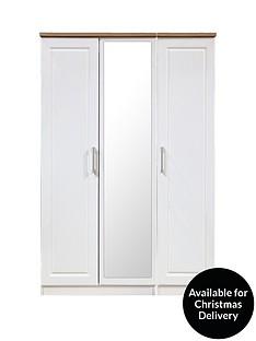 swift-regent-ready-assembled-3-door-mirrored-wardrobe