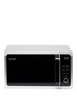Sharp   R274Slm 20L 800W Solo Microwave - Silver