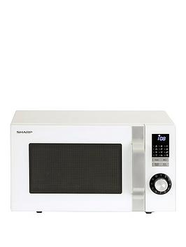 sharp-r244wm-23l-800w-solo-microwave-white