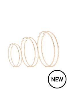 v-by-very-3-pack-hoop-earrings