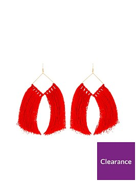 v-by-very-oversized-tassel-earrings-rednbsp