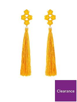v-by-very-jewel-detail-oversized-tassel-earrings-ndash-yellow