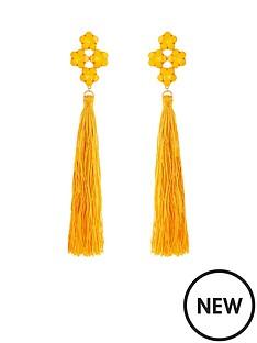 v-by-very-jewel-detail-oversized-tassel-earrings