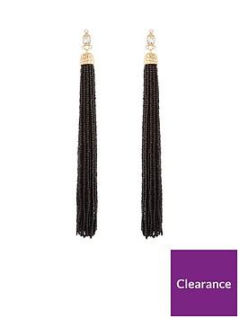 v-by-very-oversized-beaded-tassel-earrings