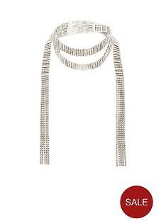 v-by-very-diamante-wrap-necklace-silver