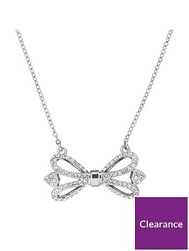 ted-baker-haven-ornate-pave-bow-necklace-silver