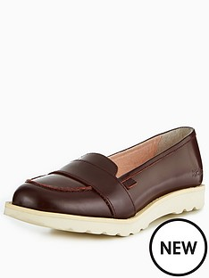 kickers-kick-c-lite-strap-leather-loafer-burgundy
