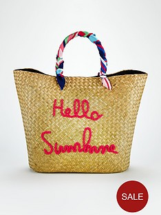 v-by-very-slogan-scarf-wrap-handle-beach-bag-naturalnbsp
