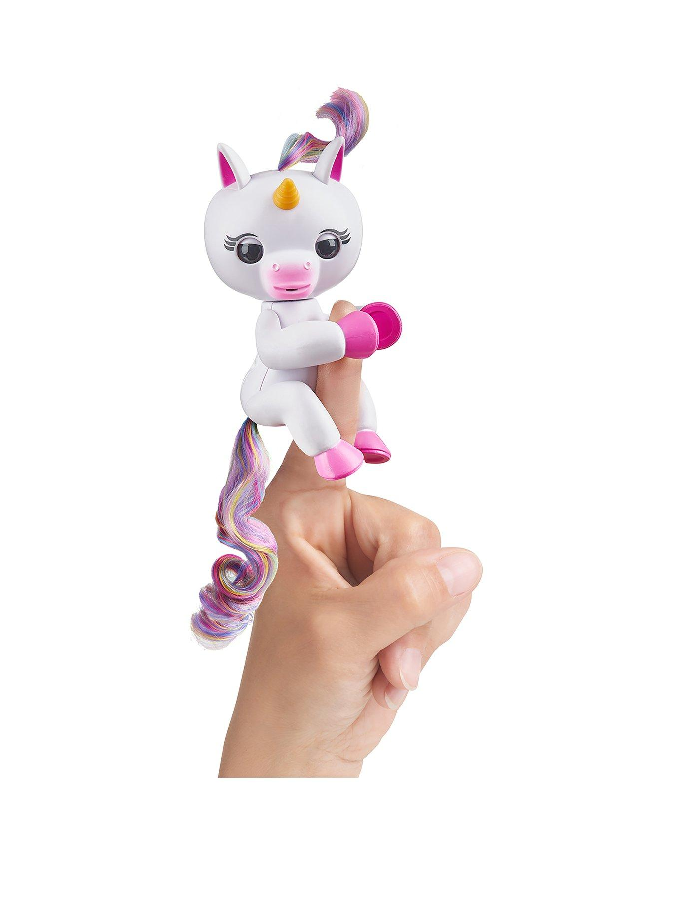 Compare prices for Fingerlings Wowwee Fingerlings Unicorn White