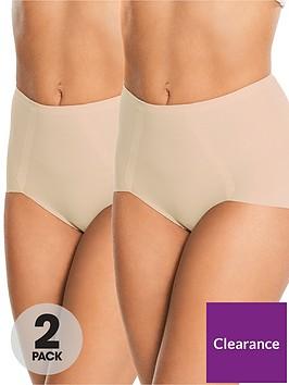 maidenform-2-pack-sleek-smoothers-brief