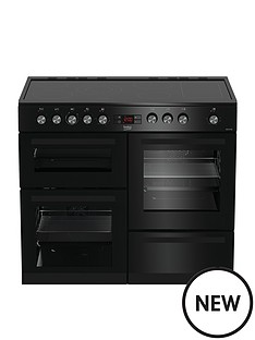 beko-kdvc100k-100cmnbspwide-electric-range-cooker-with-connection-black