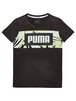puma-older-boys-summer-pack-grapic-tee-blacknbsp
