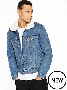 river-island-borg-collar-denim-jacket