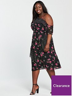v-by-very-curve-mixed-print-asymmetric-dress