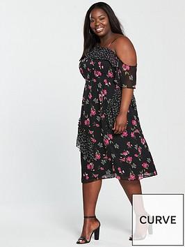 v-by-very-curve-mixed-print-asymmetric-dress