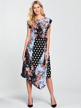 v-by-very-mixed-print-midi-dress