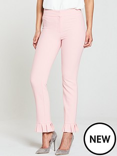 v-by-very-pleated-hem-trouser-pink