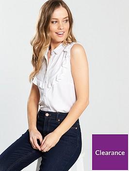 v-by-very-crochet-detail-sleeveless-shirt-ivory