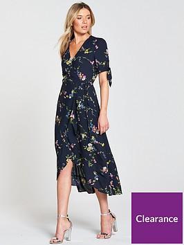 oasis-oasis-bouquet-bird-tie-sleeve-wrap-midi-dress