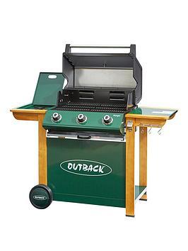 outback-ranger-3-burner-gas-bbq-including-gas-regulator