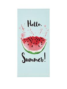 catherine-lansfield-watermelon-beach-towel