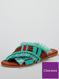v-by-very-hawaii-cross-strap-slider-turquoise