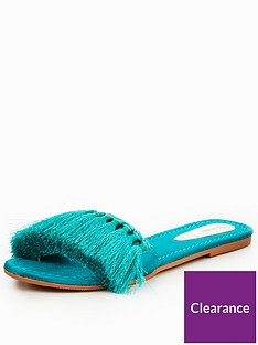 v-by-very-miami-tassel-slider-turquoise