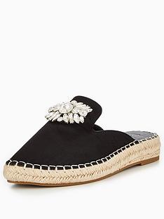 v-by-very-cannes-embellished-mule-espadrille-black