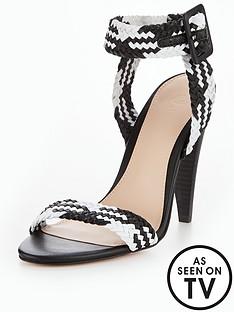 v-by-very-havana-cone-heel-woven-sandal-monochrome