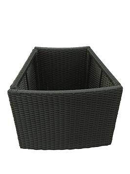 Canadian Spa Canadian Spa Canadian Spa Rattan Deep Planter For Round Spa Picture