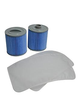 Canadian Spa Canadian Spa Glacier Microban 100Sqft Filter Set Picture