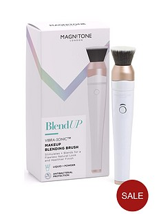 magnitone-blend-up-vibra-sonic-makeup-blending-brush-with-smoothblend-brush-head-and-biomaster-antibacterial-protection-white
