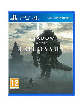 Playstation 4 Playstation 4 Shadow Of The Colossus - Ps4 Picture
