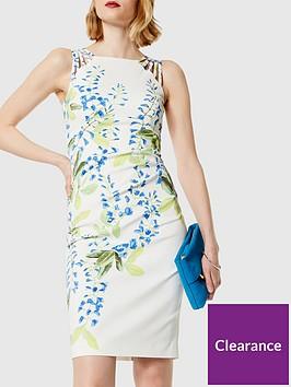 karen-millen-wisteria-print-dress