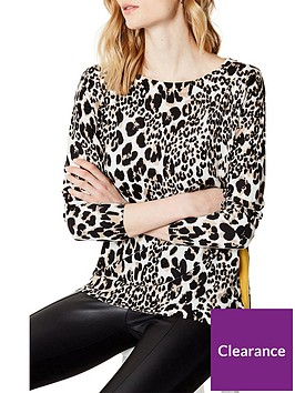 karen-millen-leopard-print-tunic