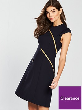 karen-millen-ponte-and-zipper-dress