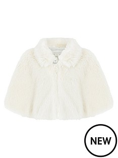 monsoon-baby-evie-faux-fur-cape