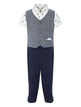 monsoon-newborn-jamie-boat-waistcoat-all-in-one