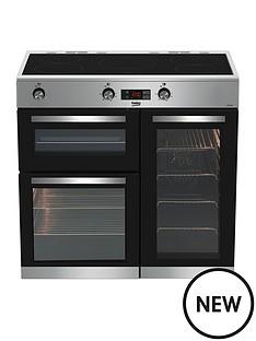 beko-kdvi90x-90-cm-electric-rangecooker-stainless-steel