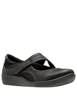 Clarks Clarks Sillian Bella Mary Jane Shoe - Black Picture