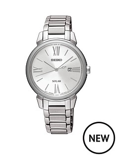 seiko-stainless-steel-bracelet-silver-dial-ladies-watch